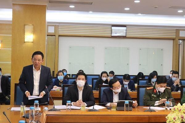 Đoàn công tác của Thành ủy kiểm tra công tác phòng, chống dịch  trên địa bàn quận Nam Từ Liêm