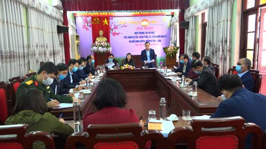 Ủy ban MTTQ Việt Nam huyện tổ chức hội nghị hiệp thương lần thứ nhất