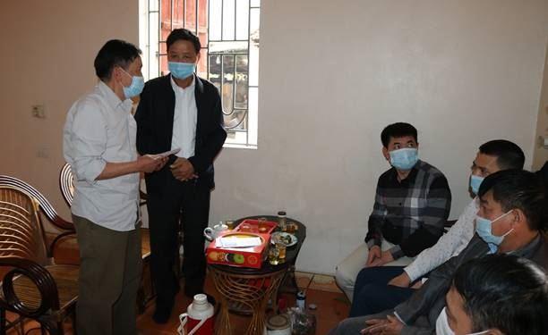 Ủy ban MTTQ VN huyện Quốc Oai kịp thời hỗ trợ gia đình tai nạn rủi ro tại xã Cấn Hữu