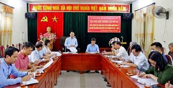 Sơn Tây tổ chức Hội nghị hiệp thương lần thứ hai.