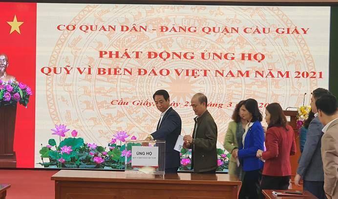 """Ủng hộ Quỹ """"Vì biển, đảo Việt Nam"""" năm 2021"""