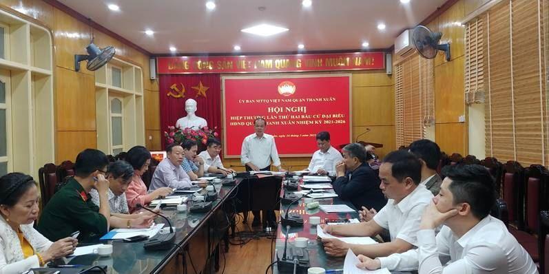 Quận Thanh Xuân với công tác chuẩn bị cho cuộc bầu cử ĐBQH khóa XV và đại biểu HĐND các cấp nhiệm kỳ 2021-2026