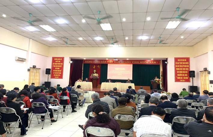 Triển khai tổ chức thành công hội nghị đại biểu nhân dân ở phường và tổ dân phố năm 2021