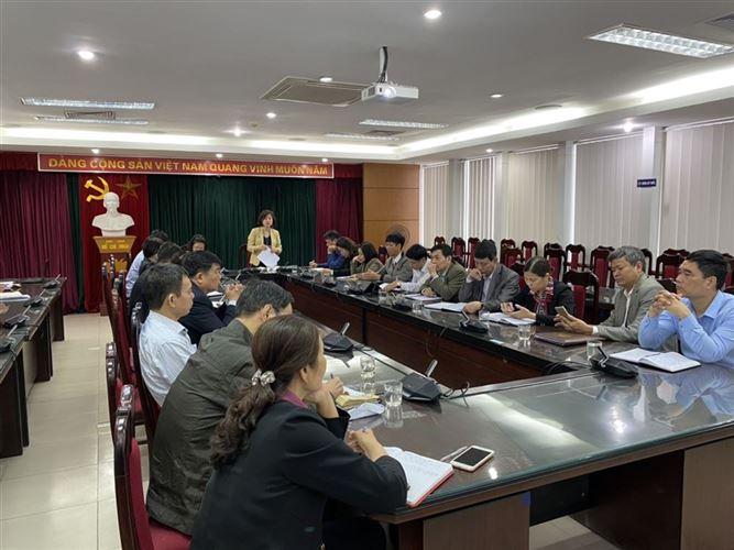 Hội nghị giao ban công tác MTTQ, dư luận xã hội tháng 3, triển khai nhiệm vụ trọng tâm tháng 4/2021