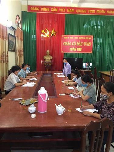 Đoàn kiểm tra, giám sát của Ủy ban MTTQ Việt Nam huyện Ứng Hòa làm việc tại 3 xã về công tác bầu cử thêm