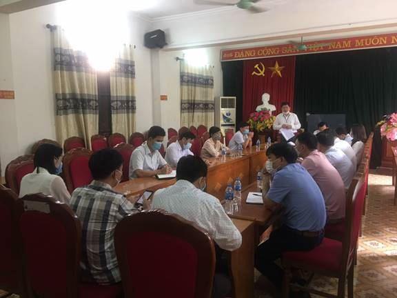 Ủy ban MTTQ Việt Nam huyện Ứng Hòa tổ chức hội nghị hiệp thương dự kiến giới thiệu người bầu làm Hội thẩm Tòa án nhân dân huyện Ứng Hòa nhiệm kỳ 2021-2026