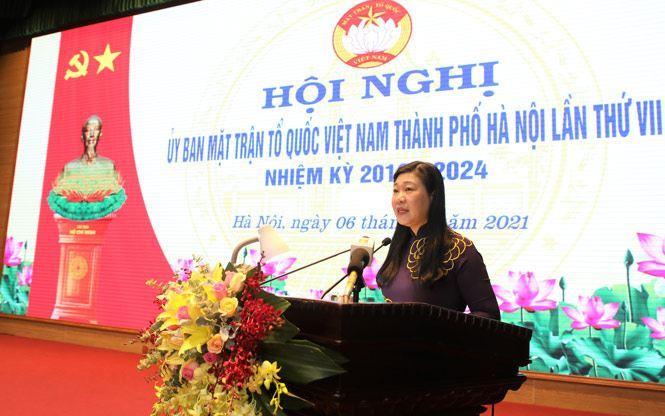 Ủy ban MTTQ Việt Nam TP Hà Nội chủ động, linh hoạt thực hiện mục tiêu kép, xây dựng khối đại đoàn kết toàn dân tộc