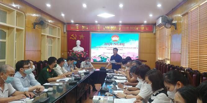 Uỷ ban MTTQ Việt Nam quận Thanh Xuân tổ chức Hội nghị lần thứ Sáu  Khóa V, nhiệm kỳ 2019-2024