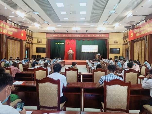 Hội nghị Ủy ban MTTQ Việt Nam huyện Ba Vì lần thứ VIII, nhiệm kỳ 2019-2024