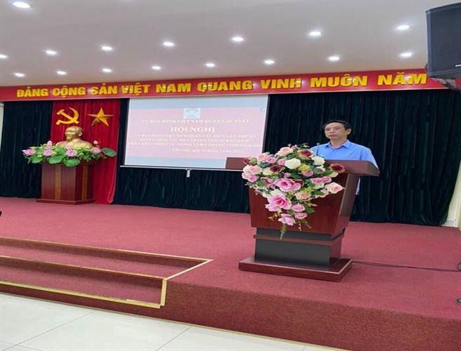 Ủy ban MTTQ Việt Nam quận Cầu Giấy tổ chức   Hội nghị Ủy Ban MTTQ Việt Nam quận lần thứ VI, sơ kết công tác Mặt trận 6 tháng đầu năm và triển khai nhiệm vụ 6 tháng cuối năm 2021.