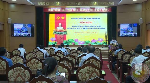 Đại biểu HĐND Thành phố Hà Nội tiếp xúc cử tri huyện Đông Anh trước Kỳ họp thứ 2- HĐND Thành phố khóa XVI, nhiệm kỳ 2021-2026