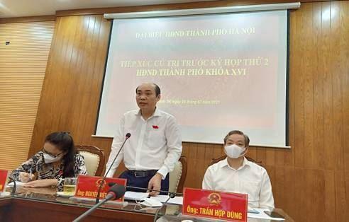 Cử tri huyện Thanh Trì kỳ vọng và kiến nghị tới  kỳ họp thứ hai HĐND thành phố Hà Nội khóa XVI,  nhiệm kỳ 2021-2026