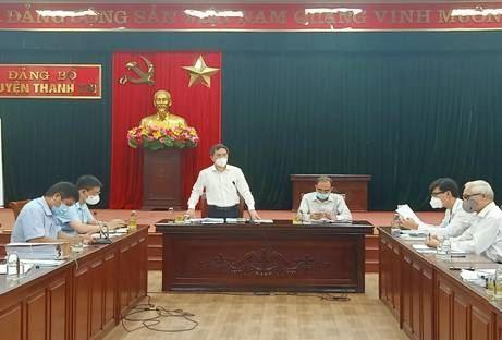 Ủy ban MTTQ Việt Nam thành phố Hà Nội Kiểm tra việc thực hiện Công văn số 1371/MTTQ-BTT ngày 09/9/2021 tại huyện Thanh Trì