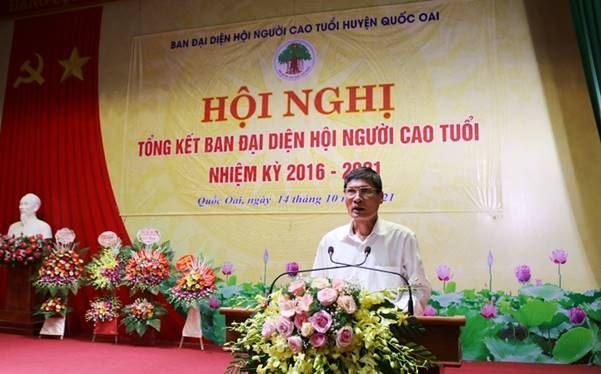 Hội người cao tuổi huyện Quốc Oai tổng kết nhiệm kỳ 2016 – 2021