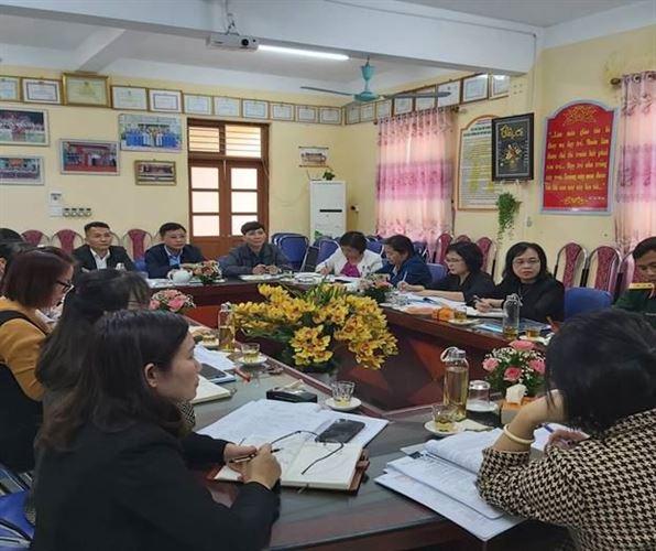 MTTQ Việt Nam huyện Thanh Oai tăng cường phối hợp giám sát