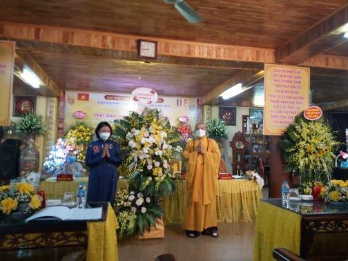 Đại hội Ban trị sự giáo hội phật giáo Việt Nam quận Long Biên, nhiệm kỳ 2021 – 2026