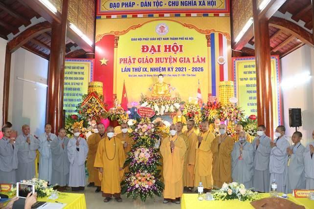 Đại hội phật giáo huyện Gia Lâm lần thứ IX, nhiệm kỳ 2021-2026