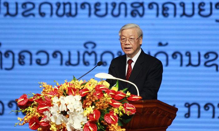 Lễ kỷ niệm 55 năm Ngày thiết lập quan hệ ngoại giao Việt Nam – Lào:  Ấm tình đoàn kết hữu nghị