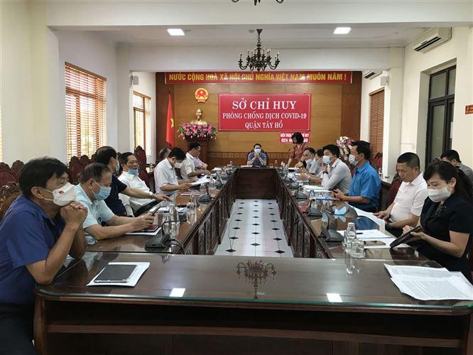 Ban Thường trực Uỷ ban MTTQ Việt Nam quận Tây Hồ tổ chức hội nghị phản biện xã hội