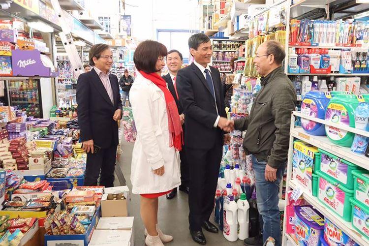 Tăng cường công tác đối ngoại Nhân dân, vận động người Việt Nam ở nước ngoài hướng về quê hương, xây dựng đất nước