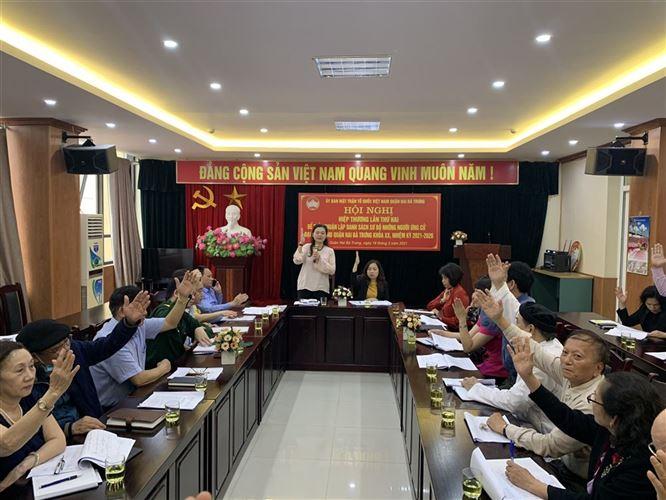 Ủy ban MTTQ Việt Nam quận sôi nổi tổ chức các hoạt động trong tháng 3 năm 2021