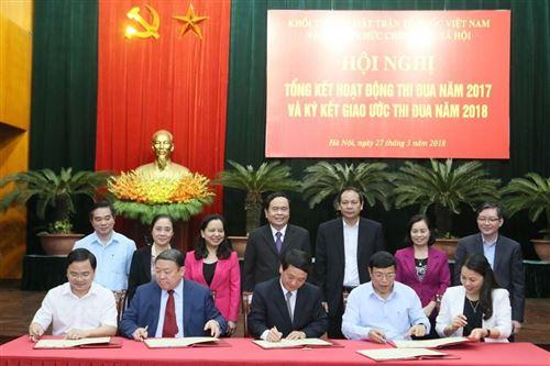 Khối thi đua Mặt trận Tổ quốc Việt Nam: Nâng chất lượng phong trào thi đua