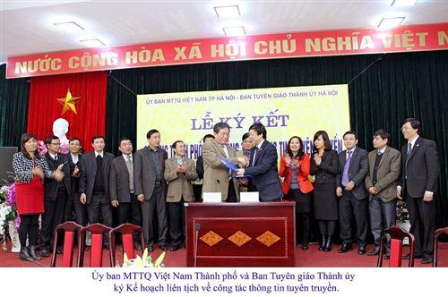 Hoạt động MTTQ tham gia xây dựng Đảng