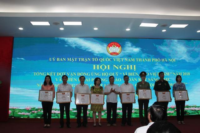 Tổng kết đợt vận động ủng hộ quỹ Vì biển, đảo Việt Nam