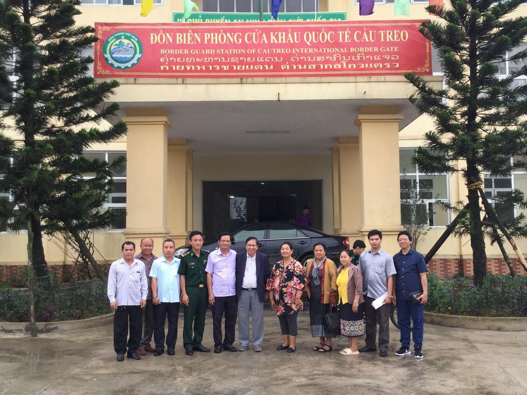 Ảnh Ủy ban MTTQ Việt Nam TP Hà Nội tiếp đoàn đại biểu Ủy ban Mặt trận Lào xây dựng đất nước Thủ đô Viêng Chăn