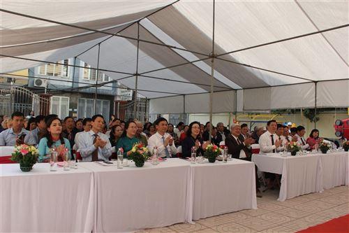 Đồng chí Ngô Thị Thanh Hằng - Ủy viên Trung ương Đảng, Phó Bí thư Thường trực Thành ủy dự Ngày hội đại đoàn kết