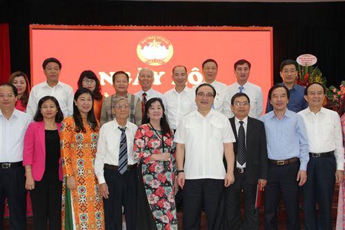 Đồng chí Hoàng Trung Hải - Ủy viên Bộ chính trị, Bí thư Thành ủy Hà Nội dự Ngày hội đại đoàn kết