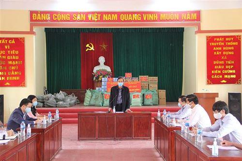 Phó bí thư Đào Đức Toàn phát biểu tại hội nghị