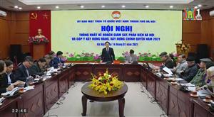 Ủy ban MTTQ TP Hà Nội đổi mới nội dung giám sát, phản biện xã hội trong năm 2021