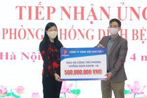 MTTQ thành phố tiếp nhận gần 5,5 tỉ đồng phòng, chống dịch