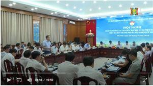 Ban Thường trực Ủy ban MTTQ Việt Nam TP tổ chức hội nghị giao ban công tác tổ chức Đại hội MTTQ Việt Nam các cấp trên địa bàn Thành phố
