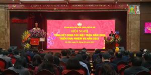 Uỷ ban MTTQ Việt Nam thành phố Hà Nội đón nhận Huân chương Lao động hạng 3