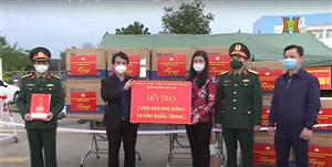Hà Nội hỗ trợ Hải Dương 2 tỷ đồng & 50.000 khẩu trang phòng chống dịch Covid-19