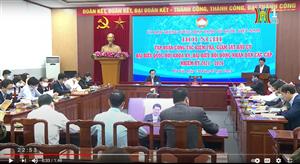 Ủy ban MTTQ TP Hà Nội thành lập 5 đoàn kiểm tra, giám sát công tác bầu cử