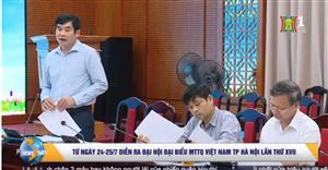 Đồng chí Lan Hương họp tiểu ban nội dung về đại hội MTTQ