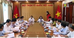 Duyệt nội dung Đại hội MTTQ Việt Nam TP Hà Nội lần thứ 17