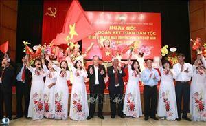 PTT Thường Trực Trương Hòa Bình dự ngày hội Đại Đoàn Kết tại phường Trần Hưng Đạo