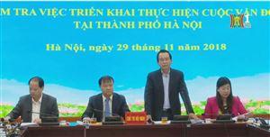Ban chỉ đạo cuộc vận động Người Việt Nam ưu tiên dùng hàng Việt Nam thành phố Hà Nội tiếp đoàn công tác Ban chi đạo Trung ương cuộc vận động về kiểm tra tại Hà Nội